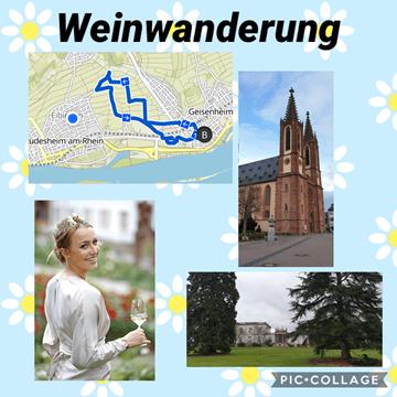 Weinwanderung in Geisenheim